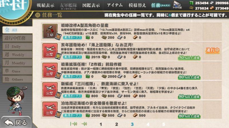 亥年護衛始め!「海上護衛隊」なお正月!
