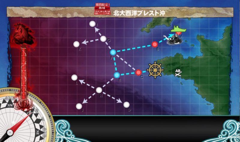 E1のマップ
