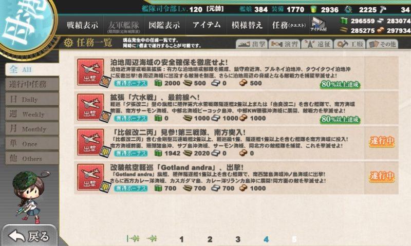 「比叡改二丙」見参!第三戦隊、南方突入!任務攻略編成・艦これ二期