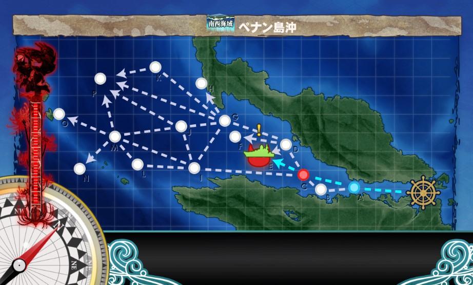 重巡「羽黒」、出撃!ペナン沖海戦・任務攻略艦これ二期
