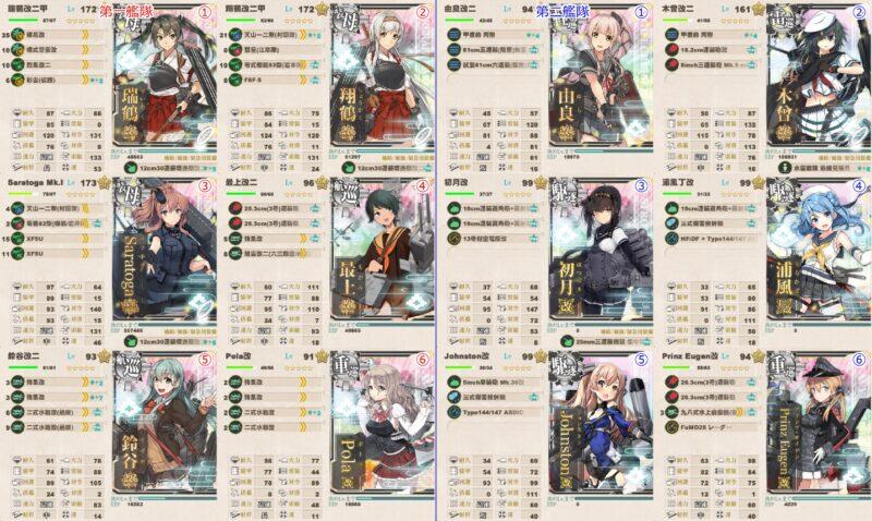 戦力ゲージ2本目 第三艦隊